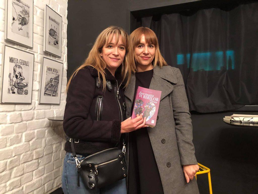 Daniela, împreună cu Magda Urse