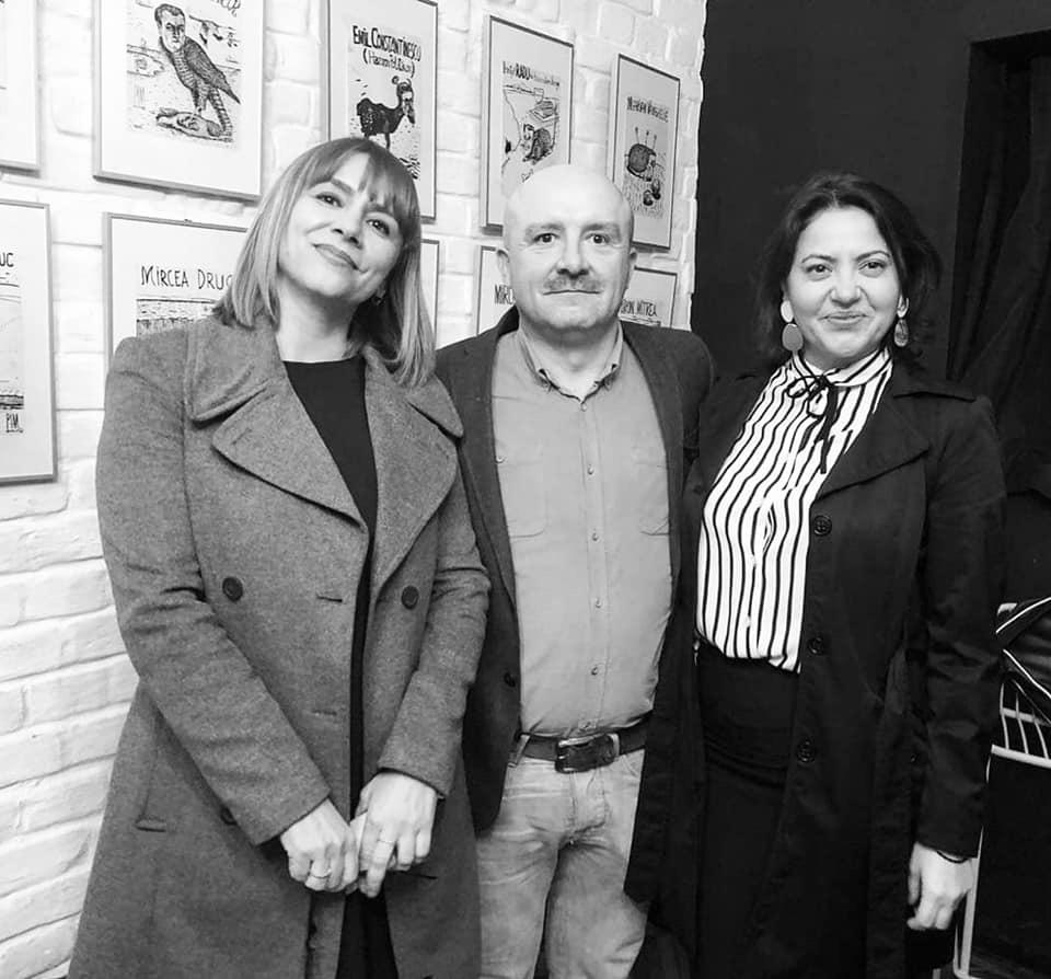 Daniela, împreună cu Daniel Sur și Georgiana Dănilă