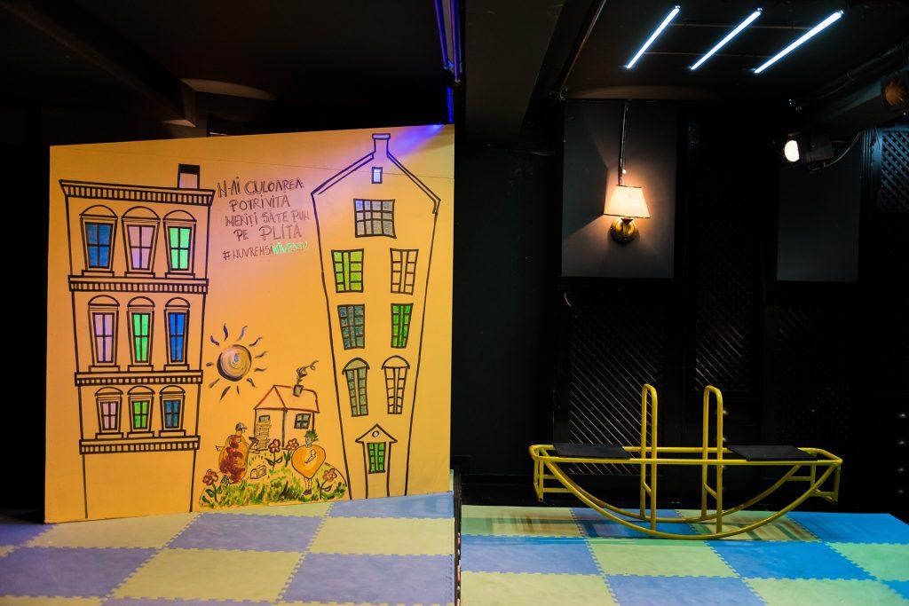Legume. Regia Irina Slate ,Teatrul Tineretului Piatra Neamț