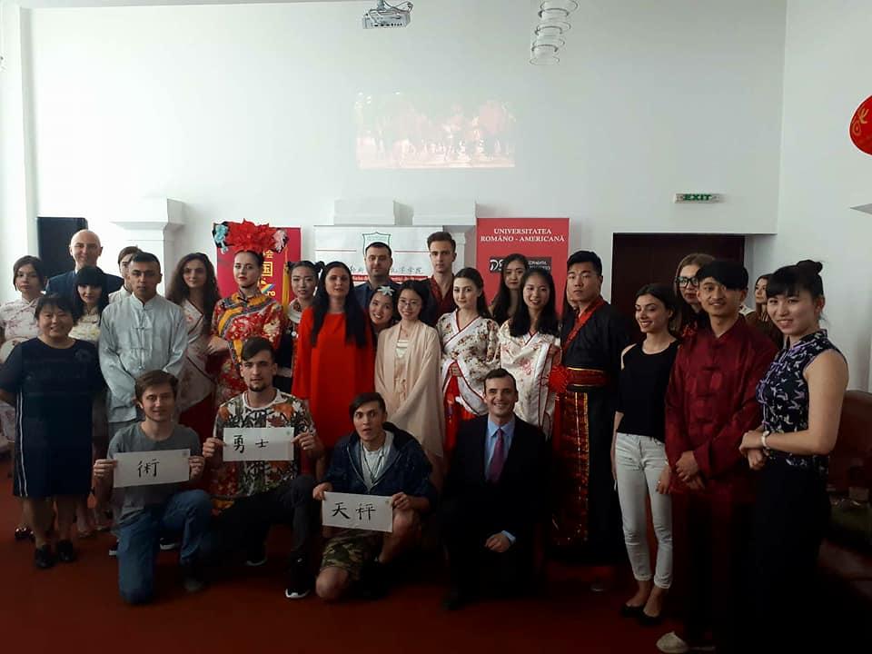 Eveniment realizat în parteneriat cu Institutul Confucius din București