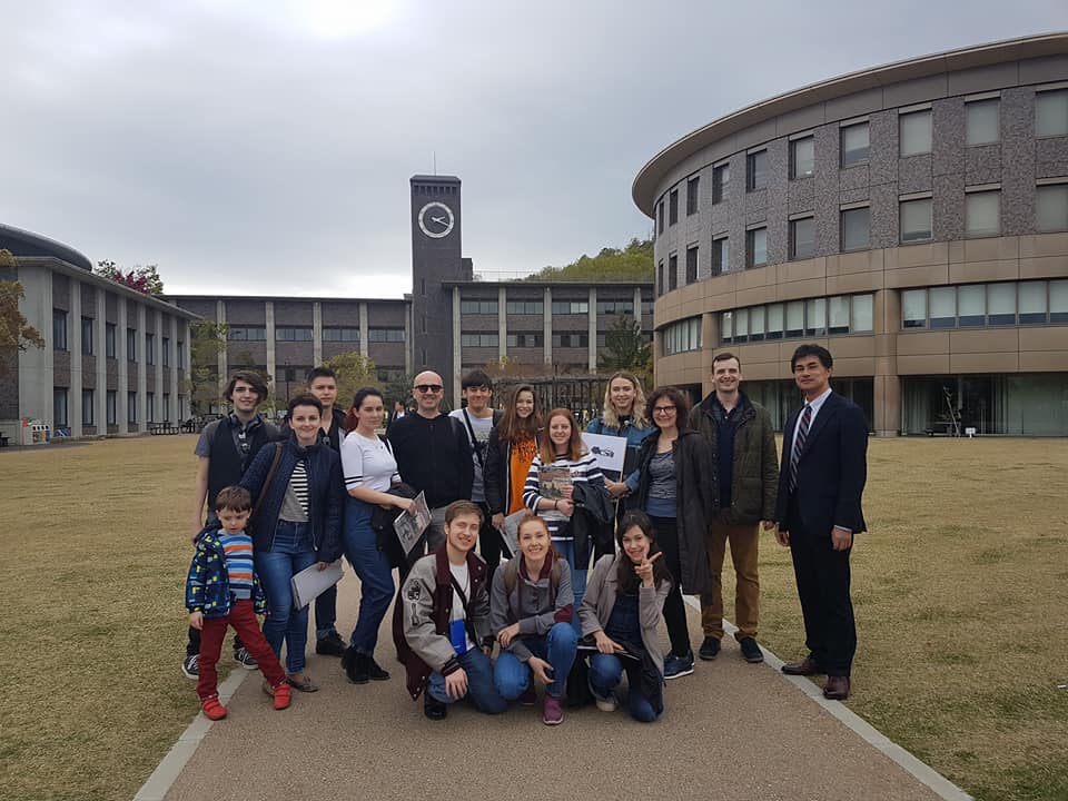 Program Cultural Japonia - Vizită Ritsumeikan University