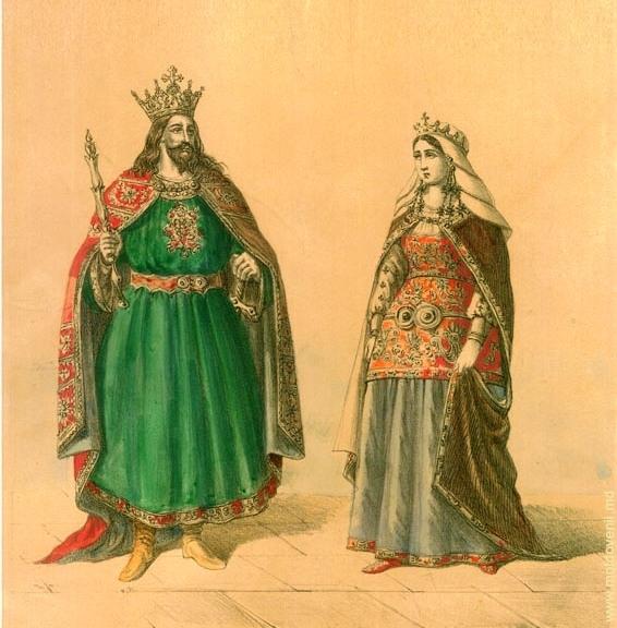 Ștefan cel mare și Maria Voichița