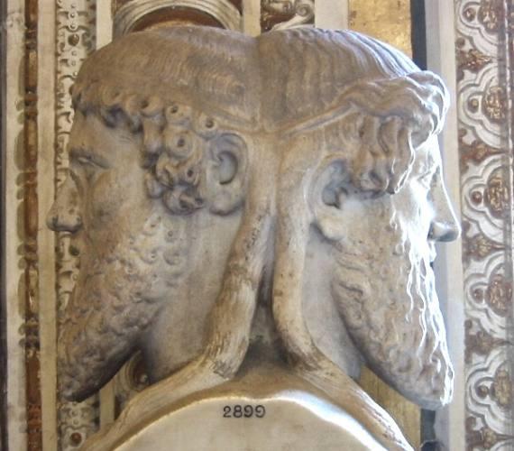 Ianus, sculptură, Muzeele Vaticane, Roma | Sursa foto: Antiquity Now