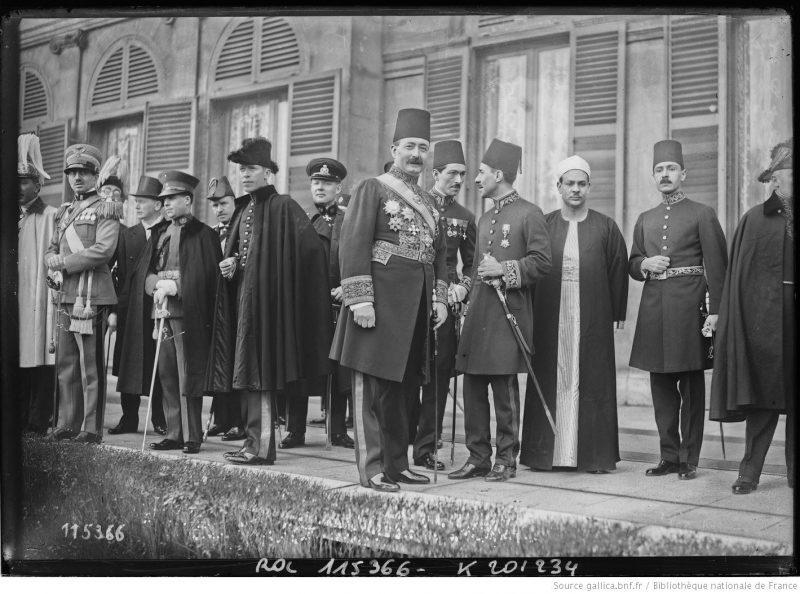Ceremonia primirii Corpului Diplomatic acreditat la Paris de către Președintele Republicii Franceze, cu ocazia Anului Nou 1927