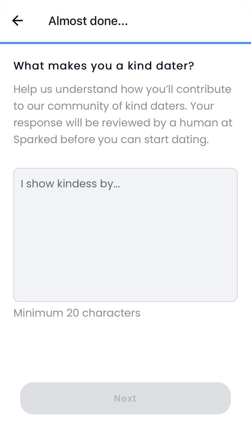 Prezentare pentru site- ul dating