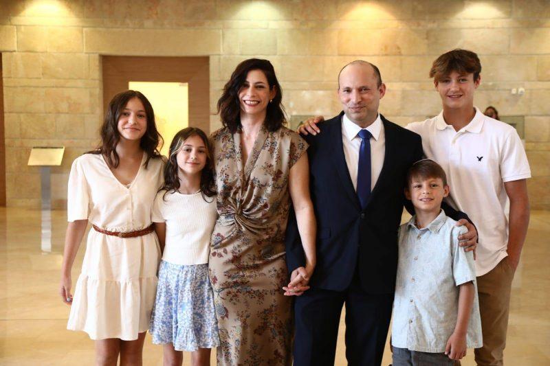 Naftali Bennett și familia lui