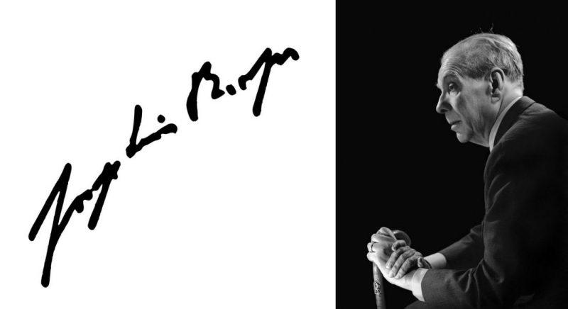 JorgeLuisBorges Jorge Luis Borges, fotografie de Annemarie Heinrich, 1967