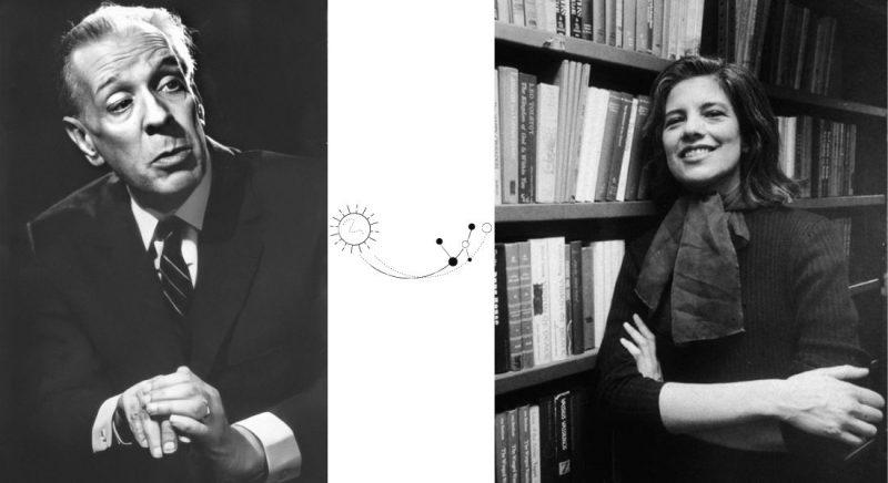 JorgeLuisBorges Jorge Luis Borges, fotografie de Annemarie Heinrich, 1967 | Susan Sontag, Sursa: The Paris Review