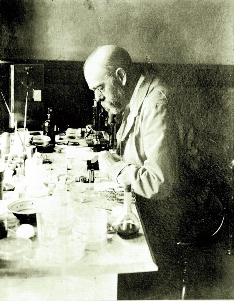 Robert Koch in Africa (1896) Sursa: www.rki.de